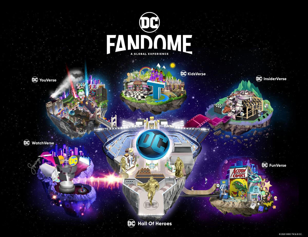 DC Fandome | Warner e DC anunciam evento global online • Coletivo Nerd